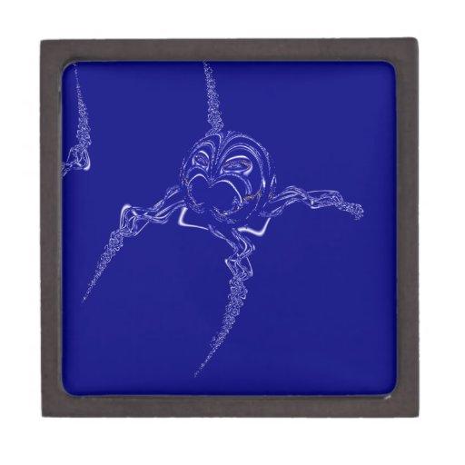Araña de cristal de griterío caja de recuerdo de calidad
