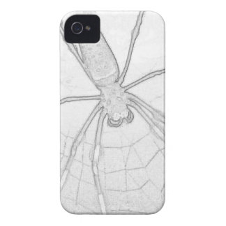 Araña de Etchy iPhone 4 Case-Mate Carcasas