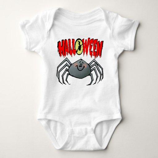 Araña de Halloween Body Para Bebé