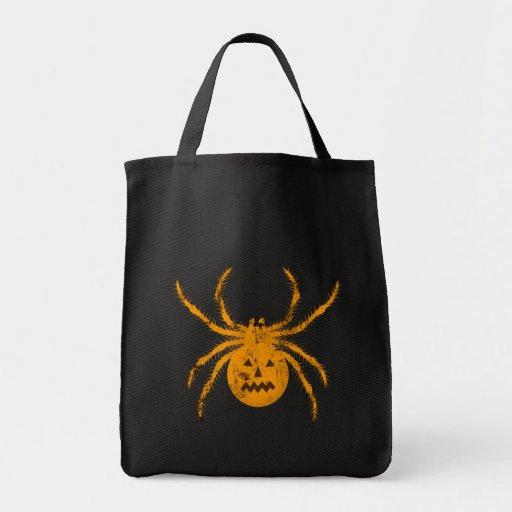 Araña de Halloween Bolsas De Mano