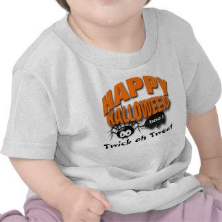 Araña de Halloween Camisetas