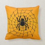 Araña de Halloween Cojin