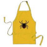 Araña de Halloween Delantal