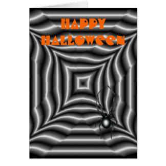 Araña de Halloween Felicitación