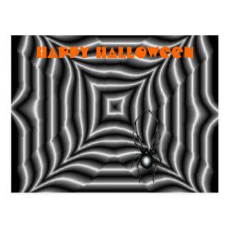 Araña de Halloween Postales