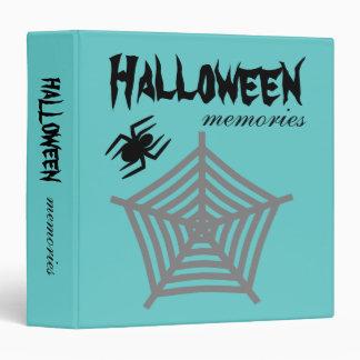 Araña de Halloween y álbum del libro de Carpeta 3,8 Cm
