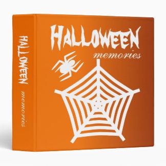 Araña de Halloween y álbum del libro de recuerdos/