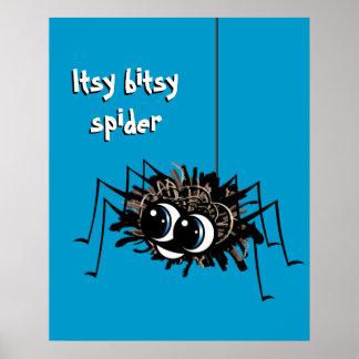 Araña de Itsy Bitsy - poster
