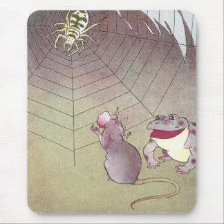 Araña de la reunión del Tittle-Ratón y del sapo de Alfombrilla De Raton