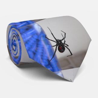 Araña de la viuda negra corbata personalizada