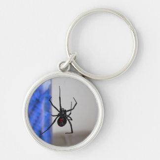 Araña de la viuda negra llavero personalizado