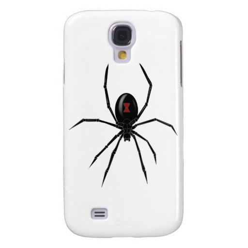 Araña de la viuda negra samsung galaxy s4 cover