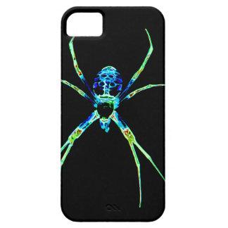 Araña de neón iPhone 5 funda