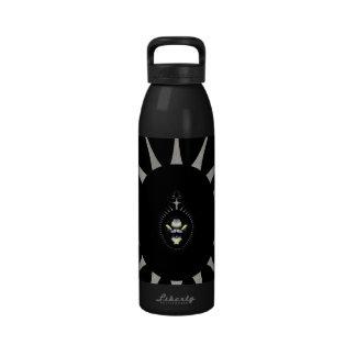 Araña de oro botella de agua reutilizable