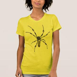 Araña de oro del orbe camiseta