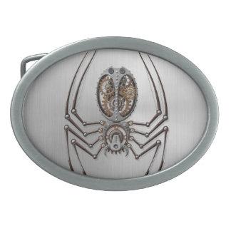 Araña de Steampunk con efecto del acero inoxidable Hebillas De Cinturon