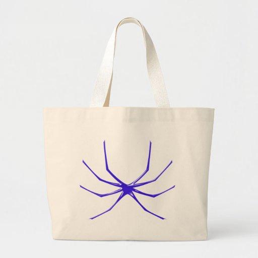 Araña de Tattoo spider aquel spi Bolsas Lienzo