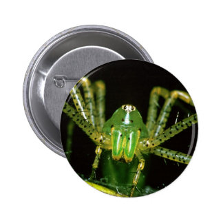 Araña del lince pin redondo de 2 pulgadas