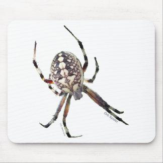 Araña del orbe tapete de raton