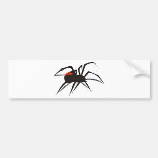 Araña del Redback Pegatina Para Auto