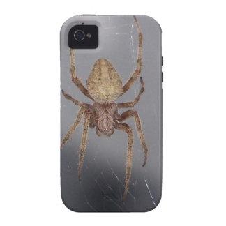 Araña del tejedor del orbe del jardín Case-Mate iPhone 4 fundas