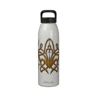 Araña del tigre botellas de beber