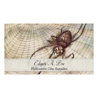 Araña en el ejemplo del Web Tarjetas Personales