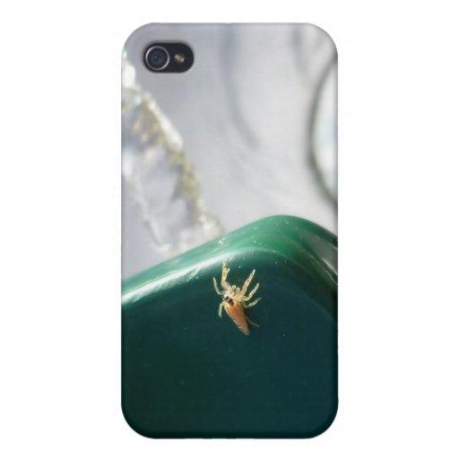 Araña en foutain del agua iPhone 4/4S funda