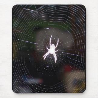 Araña en su Web Tapete De Ratón