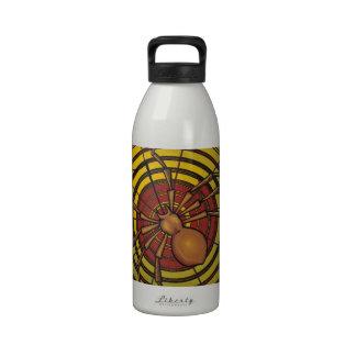 Araña en un Web Botella De Agua Reutilizable