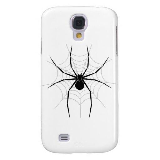 Araña en un Web Funda Para Galaxy S4