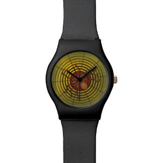 Araña en un Web Reloj De Mano