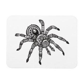 Araña inspirada imanes de vinilo