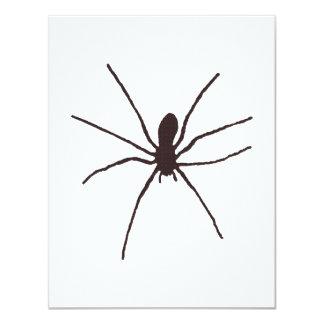 """araña invitación 4.25"""" x 5.5"""""""