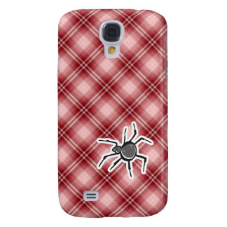 Araña linda; Tela escocesa roja