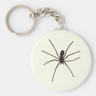 Araña Llavero Redondo Tipo Pin