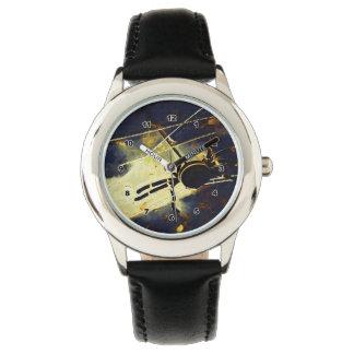 Araña negra relojes
