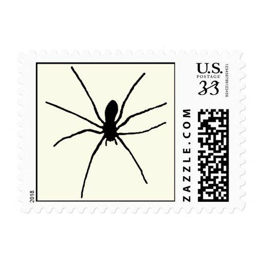 Araña negra franqueo