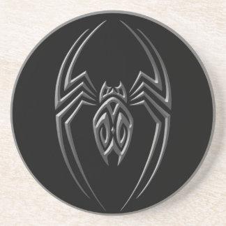 Araña oscura del hierro posavasos manualidades