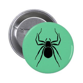 Araña Pin Redondo De 2 Pulgadas