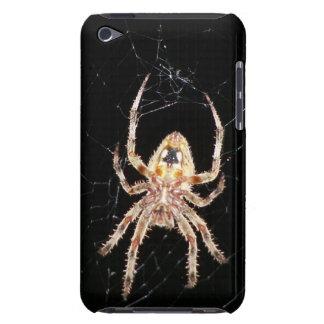 Araña que teje del orbe del jardín cubierta para iPod de barely there