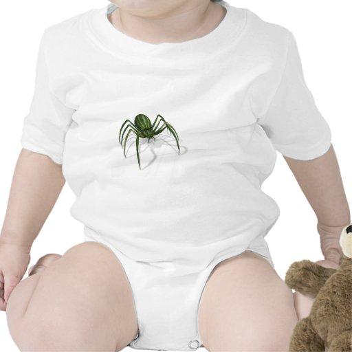 Araña rara de la sandía trajes de bebé