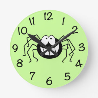Araña Reloj Redondo Mediano