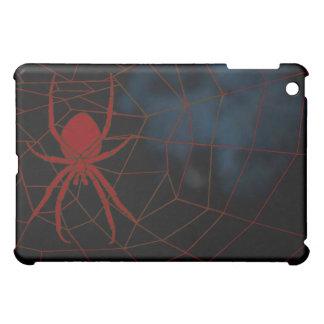 Araña roja en tela, correas