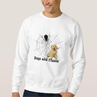Araña UnisexSweatshirt de Halloween del golden Sudaderas Encapuchadas