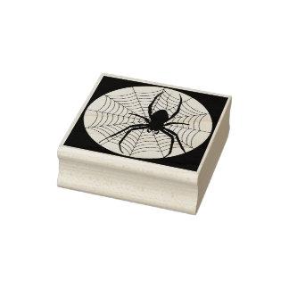 Araña y sello del arte de la silueta de la tela
