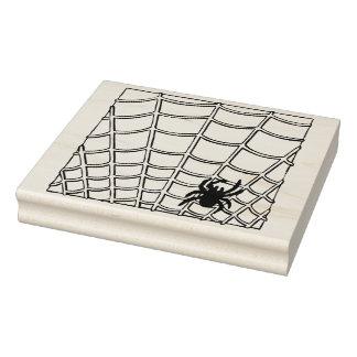 Araña y sello del arte del ejemplo de la tela