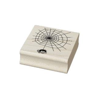 Araña y sello del arte del ejemplo de la tela 4