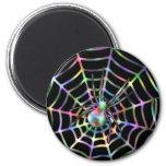 Araña y Web frescos Iman Para Frigorífico