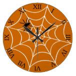 Araña y Web Reloj